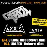 Turné CITRON, AXXIS a TANJI pokračuje!