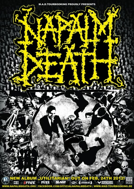 Plakát_Napalm Death