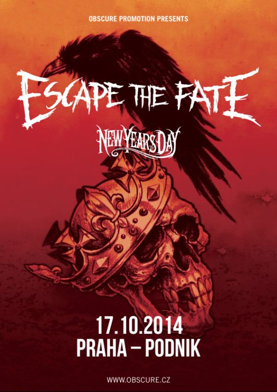 Poster Escape The Fate