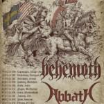 Zimní metalová pařba v ČR – Extreme Tour Behemoth, Abbath, Entombed A.D. a Inquisition