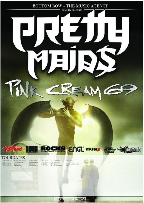 Pretty Maids / Pink Cream 69 Tour